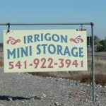 irrigonministorage